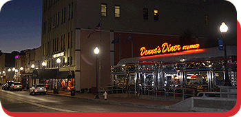 Donna's Diner on State Street in Sharon, PA